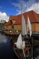 Mange flotte båter har lå til kais i Trellevik