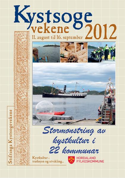 Forsiden på årets programhefte