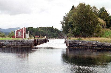 Lindås sjøsluser, foto Ann Steindal, Hordaland fylkeskommune