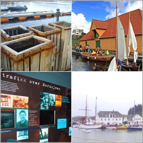 Sund: Glesvær, Nordsjøfartmuseet og Trellevik