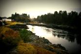 Straumen ved slusene i Lindås - synfaring på opningarenaen