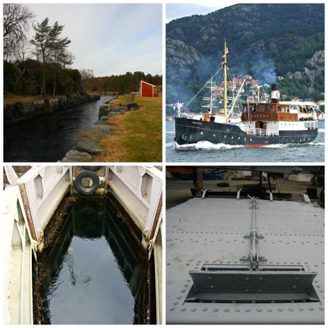 Det vert historisk når Granvin skal gjennom Lindås sjøsluser for første gong på ei lang årrekkje