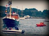 Fjordabåten Atløy var også ein tur innom i Periferien - der havsus møter populærmusikk