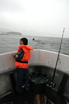 Kjekt å komme seg utpå med en ordentlig fiskebåt