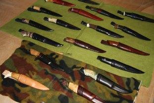 Knivklubb hadde utstilling og litt salg