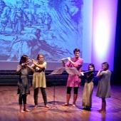 Middelaldermusikk frå kulturskuleelevar