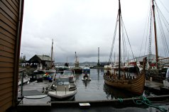 Her var mulighet for publikum å være med utpå sjøen, i alt fra vikingskip til den lille redningsskøyten Elias