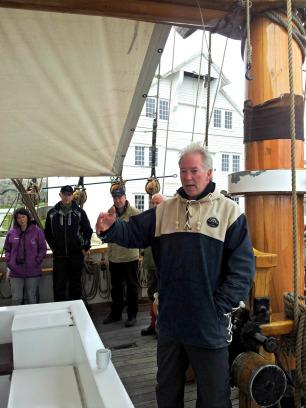 Audun Hausberg er eigar og skippar på Loyal