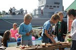 Båtbygging for borna, ei populær aktivitet