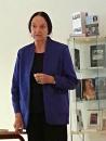 Elisabeth Aasen fortalte om kvinnehistorie og kvinnekår