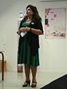 Stortingsrepresentant Laila Marie Reisertsen fortalte om korleis det er å være kvinne på Stortinget