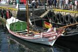 Bergen Kystlag sin Enigheten og andre småbåtar fekk oppdrag i å eskortere mellom anna Statsraaden inn Vågen