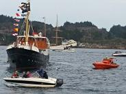 Gamle og nye båtar på Periferifestivalen