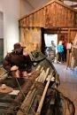"""Gjestane rakk ein rask tur i utstillingane på Kystmuseet før dei måtte haste vidare før """"Lena"""" sett inn"""