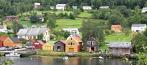 Sjøhusrekka i Mjøsvågen