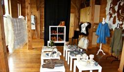 Utstillinga inne i Lyngheisenteret