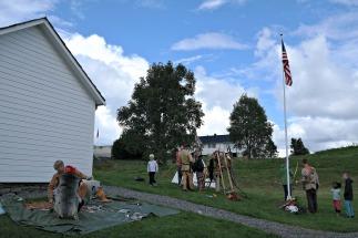 Indianar og nybyggjarar i Amerika