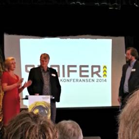 Jette F. Christensen og Ove Trellevik var mellom foredragshaldarane på Periferikonferansen. Halvor Folgerø var konferansier