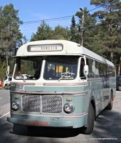 Den game rutebussen frå Ask til Hanevik