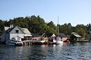 Festpynta båtar til kai