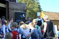 Norsk sjømatsenter med kokkeskule for born