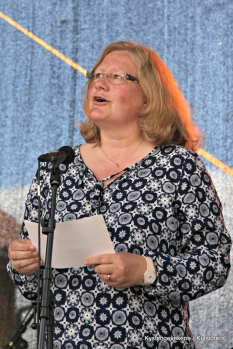 Anne-Beth Njærheim, kom med ei helsing på vegna av Hordaland fylkeskommune