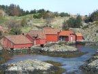 Fiskarbondens rike på Krossøy, til fots eller på sykkel i Austrheim