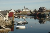 Landsbyen i havet med mange kulturtilbod laurdag