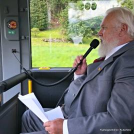 Kaare Malkenes var kulturlos ombord i bussen