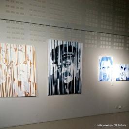 Sjølvaste høvdingen i kystkulturen - Erik Bye var representert med eit stort portrett i utstillinga