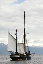 Det var høve for segltur på fjorden med Seladon
