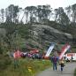Målgang hos Askøy turlag, her fekk alle borna premie og alle var med i trekning om fleire premiar