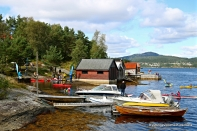 Fint utval av båtar i Hanevik