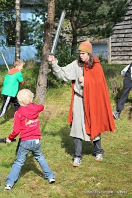 Vikingleik med Tidsreiser as
