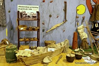Kvardagsgjenstander frå gardsbruk og fiske