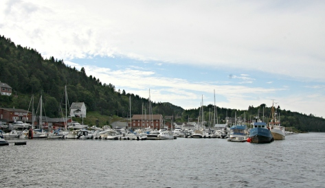 Litlebergen Båtforening, båthavn og marina, gjestekai