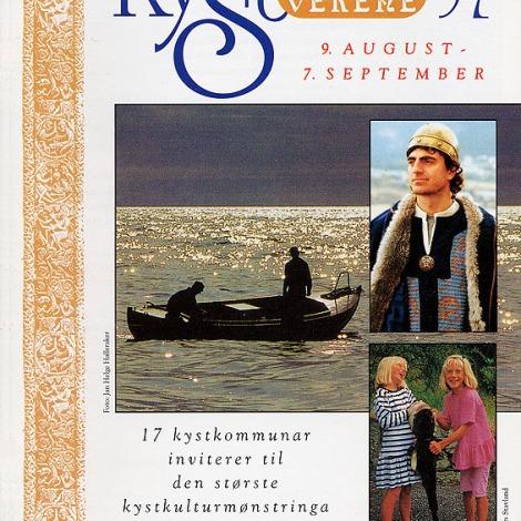 Programforsida for Kystsogevekene 1997