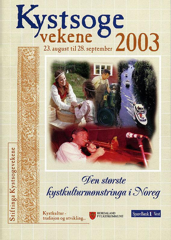Programforside Kystsogevekene2003
