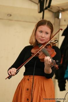Vakker og melankolsk violinspel