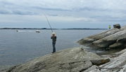 Fiske frå berg og båt