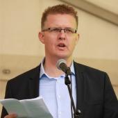Fylkesvaraordfører i Hordland, Pål Kårbø sto for den offisielle opninga av Kystsogevekene 2016