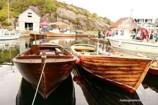 Kaikafeen og fine båtar