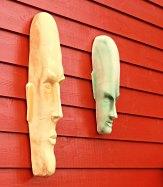 Peter Maron sine kjeramiske skulpturar