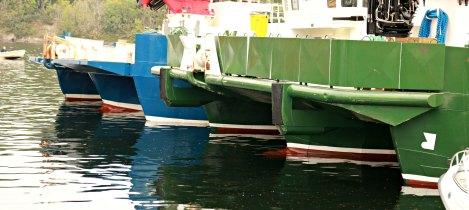 Vedholmene Galleri ligg på Lepsøy i særs maritimt miljø