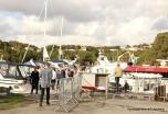 Kulleseidkanalen gjestehamn var full av både båtar og bubilar.