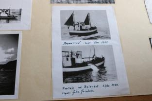 Kort informasjon med kva som skjedde med båtane