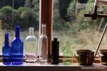 Flaskesamling i vindauget