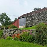 Løa er ombygd til det rustikke Galleri Rustica